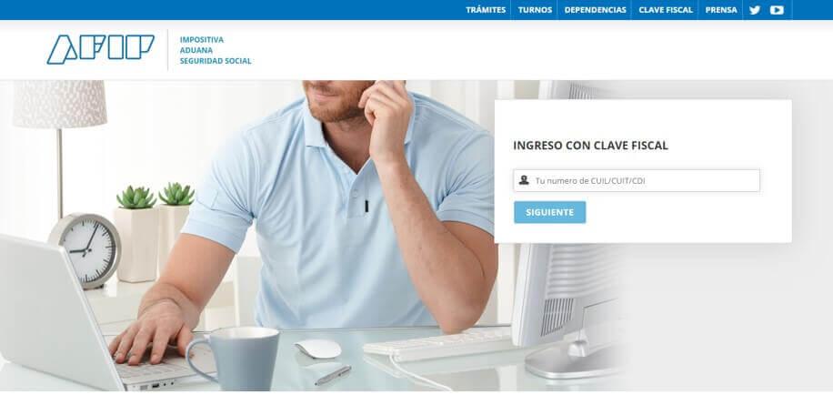 cuit online ingreso con clave fiscal cuitargentia.com